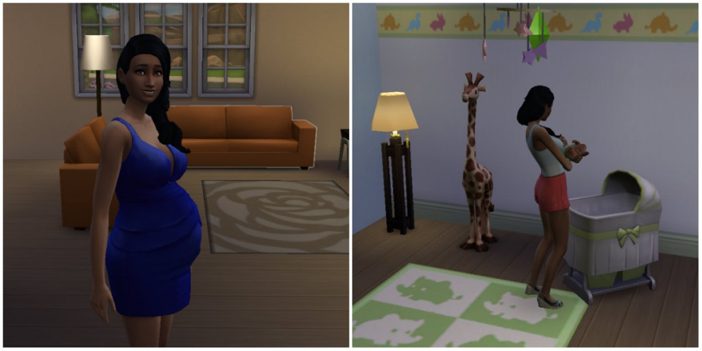 review sims 4 collage