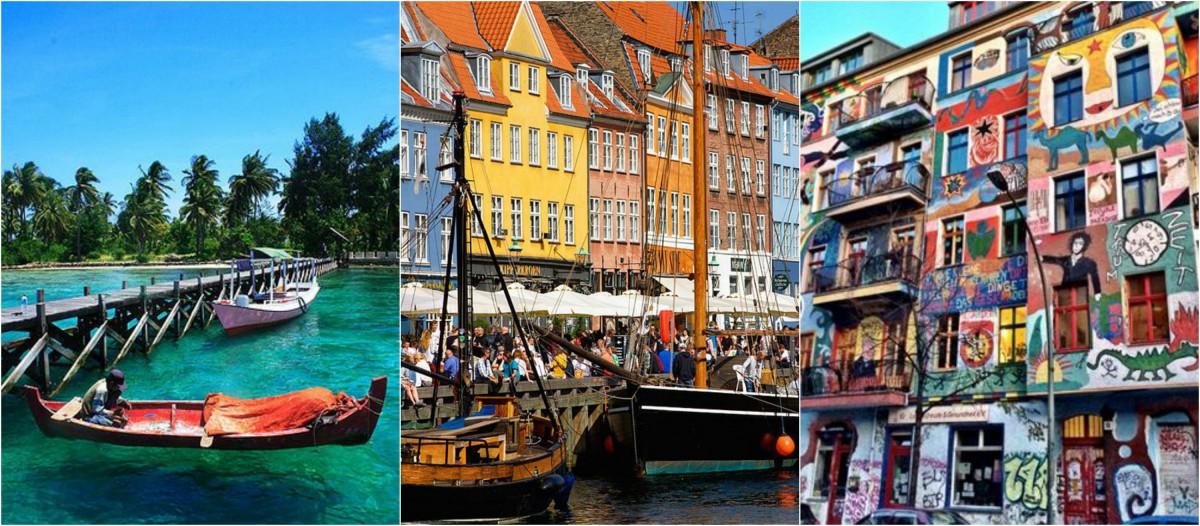 collage reizen eerste salaris