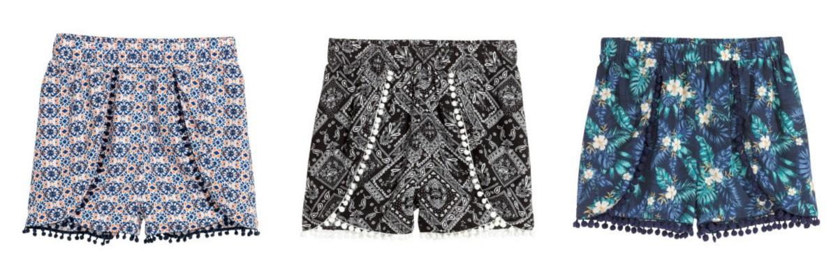 zomerse shorts