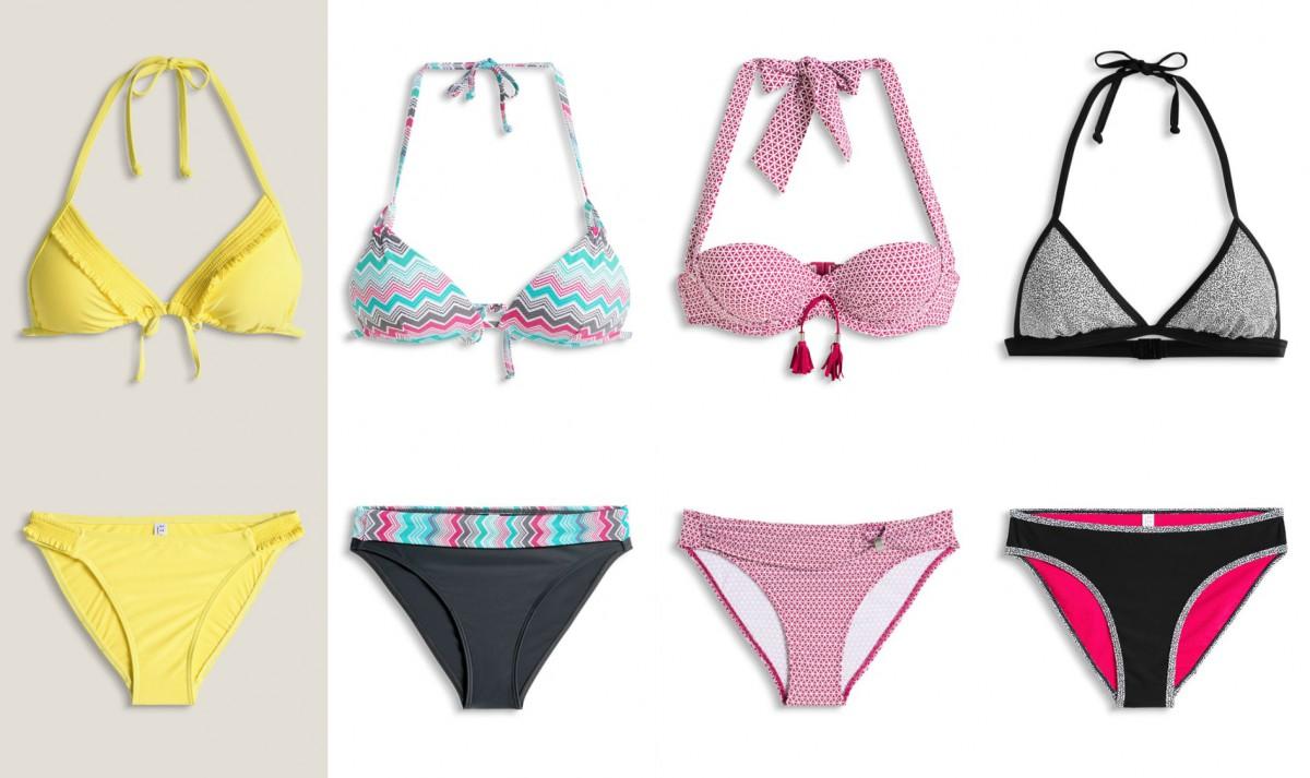 esprit 4 bikinis collage