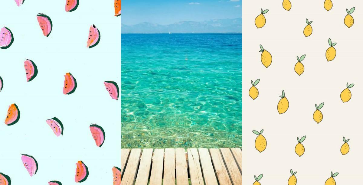 zomer achtergronden2
