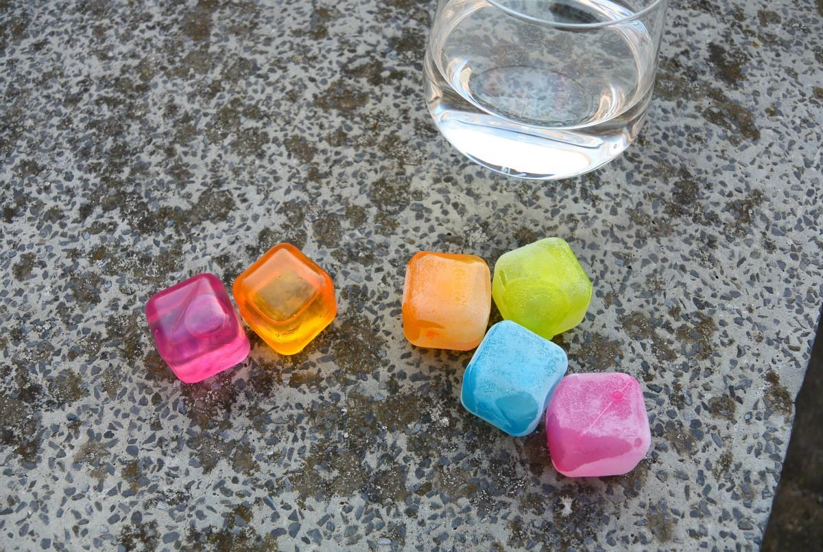 herbruikbare ijsblokjes
