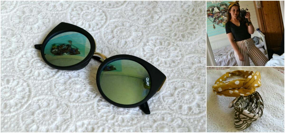 Shoplog | Quay zonnebril & Zara kleding