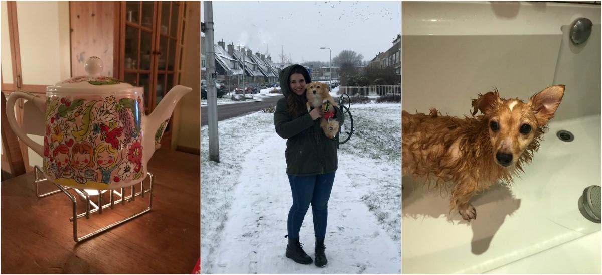 DIARY week 4 | Genieten van de sneeuw & nieuw Blond item