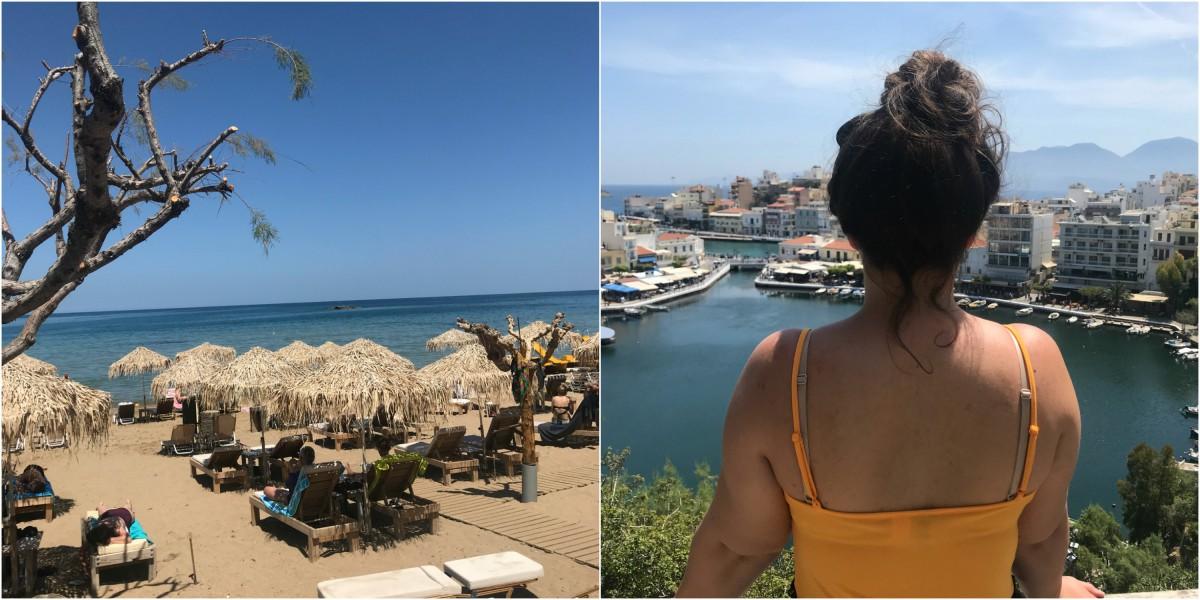 Terug van Kreta!