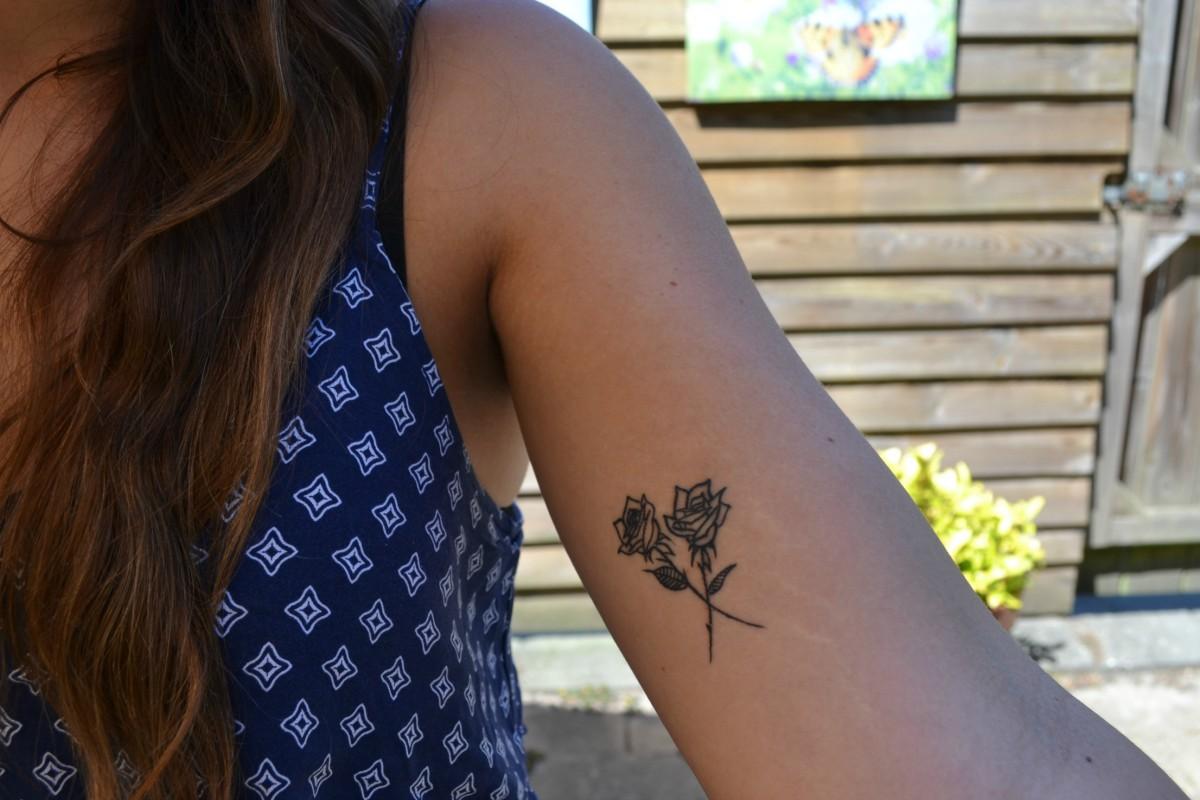 eerste tatoeage