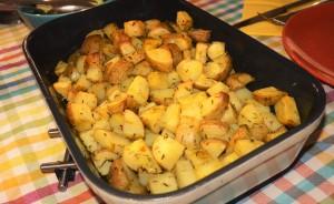 Budget recept – Aardappeltjes zeezout & rozemarijn