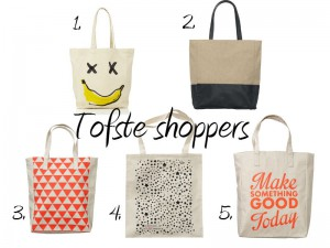5 tofste shoppers