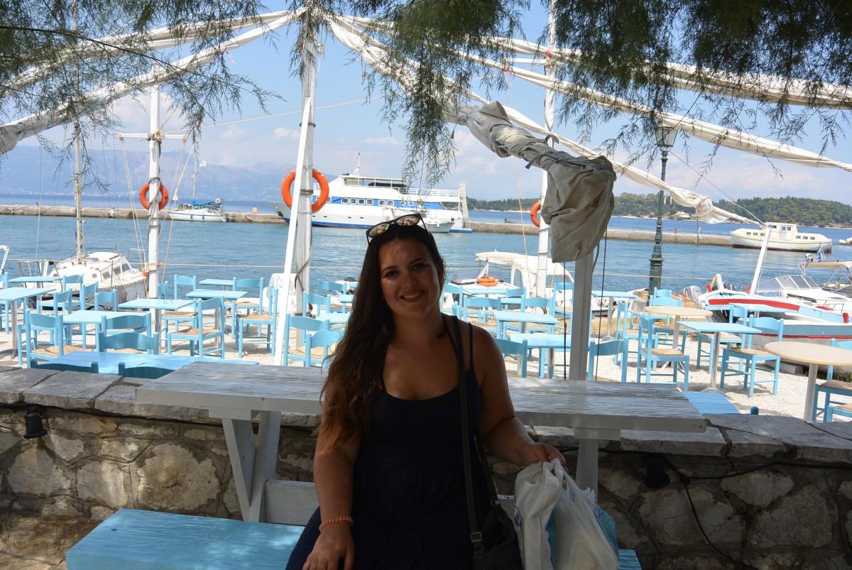 Terug van Corfu