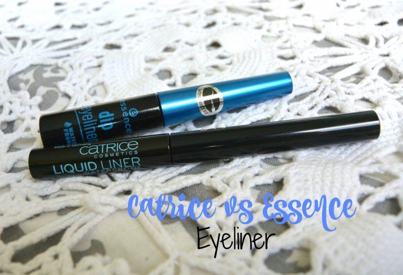 Catrice vs Essence eyeliner