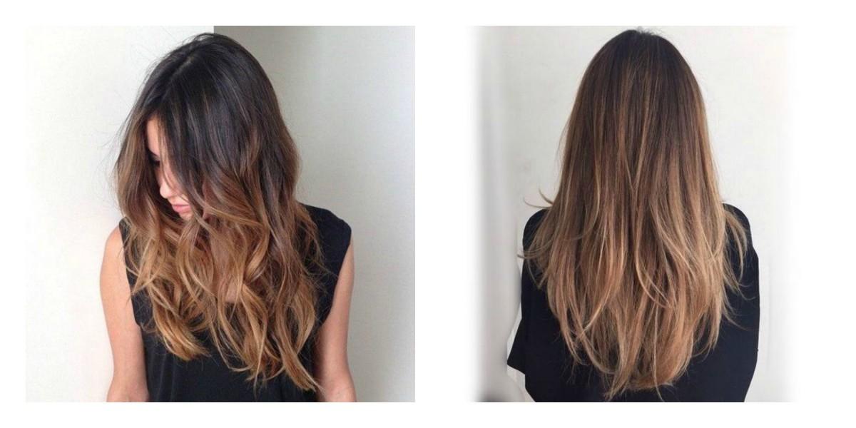 Magnifiek Nieuw haar: Balayage donkerbruin/blond - iMarjoleine &ZD74