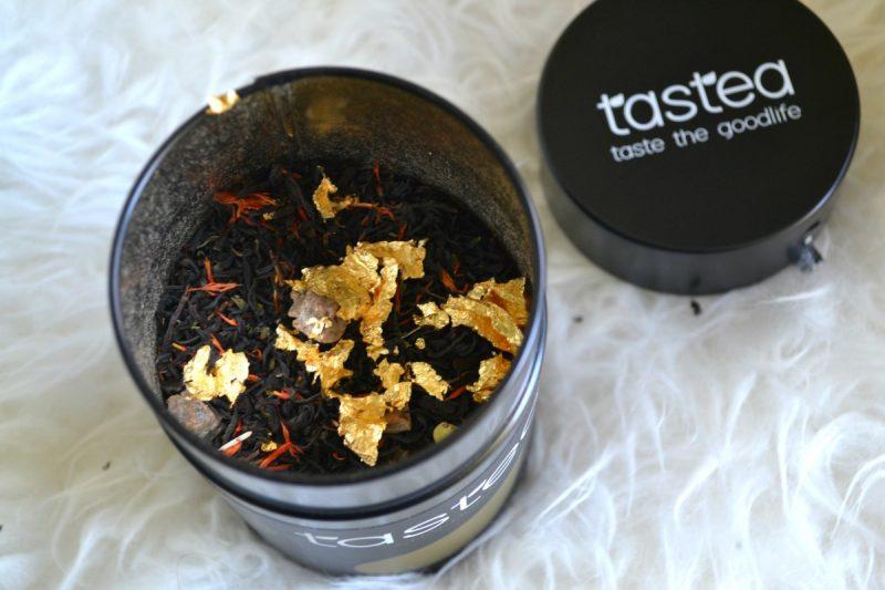 Tastea chai dubai | Thee met eetbaar bladgoud (+kortingscode)