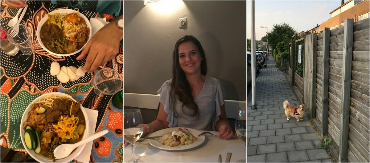 DIARY week 22 | Shoppen, asperges eten en naar de pasar malam